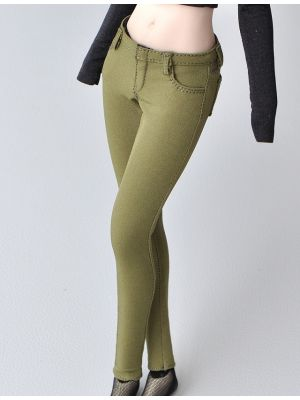1/6 Scale Seamless Body Female Figure Clothes Fashion Skinny Pencil Pants