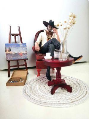 Banpresto One Piece Dracule Mihawk Sitting Action Figure Creator X Creator