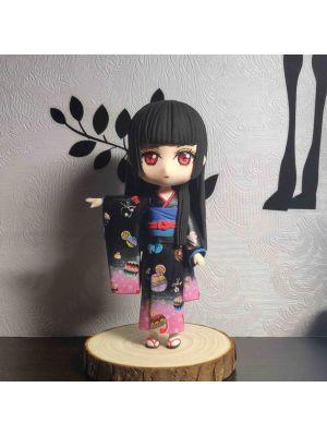 Handmade Jigoku Shoujo Ai Enma Hell Girl Chibi Figure