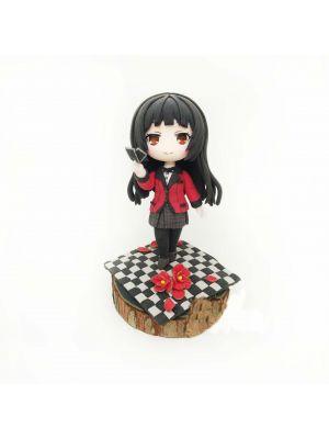Handmade Kakegurui Yumeko Jabami Chibi Clay Figure