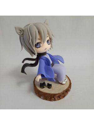 Handmade Kamisama Kiss Tomoe Chibi Clay Figure