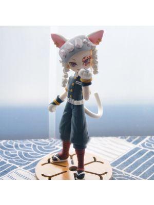 Handmade Kimetsu no Yaiba Tengen Uzui Chibi Clay Figure