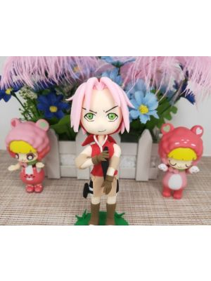 Handmade Naruto Sakura Haruno Nendoroid Petite for Sale