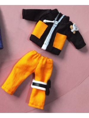 Handmade Naruto Uzumaki Outfit Doll Clothes for 1/12 Figure GSC OB11