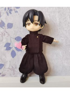Handmade OB11 Figure Doll Clothes Outfit for Student Suguru Geto Jujutsu Kaisen