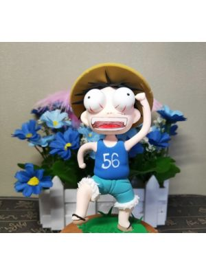 Handmade One Piece child Monkey D Luffy Nendoroid Petite for Sale