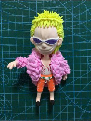 Handmade One Piece Donquixote Doflamingo Chibi Figure