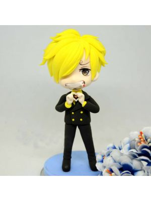 Handmade One Piece New World Vinsmoke Sanji Nendoroid Figure for Sale