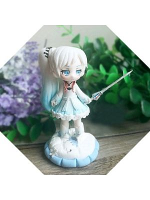 Handmade RWBY Weiss Schnee Nendoroid Petite for Sale