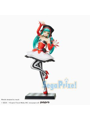 SEGA VOCALOID SPM Project DIVA Hatsune Miku Prize Figure, Clown themed costume Pierretta Figure