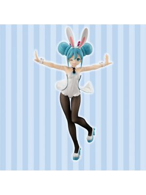 FuRyu VOCALOID BiCute Bunnies Hatsune Miku Figure -WHITEver.-