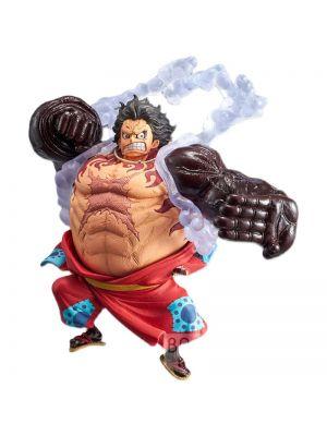 Banpresto One Piece Luffy Gear Fourth Wano Kuni King of Artist Figure