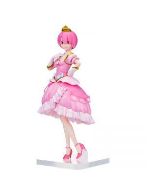 Sega Re:Zero Starting Life in Another World Ram & Rem Pretty Princess Ver. Figure
