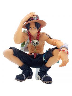 One Piece King Of Artist Ace Squatting Prize Figure By Banpresto