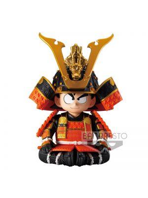 Banpresto Kid Goku Figure Dragon Ball Z Japanese Armor & Helmet Version New
