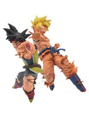 Father-Son Kamehameha Goku & Bardock Figure Dragon Ball Super