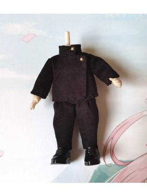 Handmade OB11 Doll Clothes Jujutsu Kaisen Megumi Fushiguro Outfit for 1/12 GSC Figure