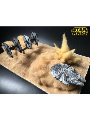 Star Wars Battle Action Millennium Falcon Figure Playset for Sale