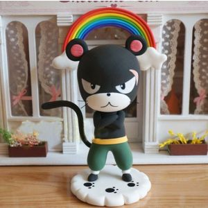 Handmade Fairy Tail Panther Lily Nendoroid Petite Buy