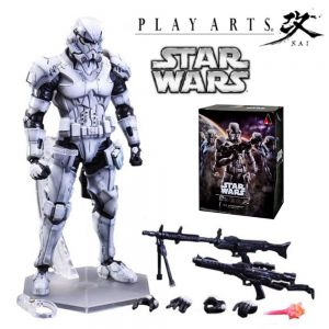 Play Arts Kai Variant Star Wars Stormtrooper Action Figure Toy Buy