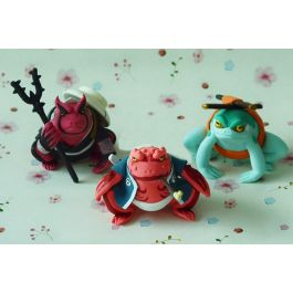 Handmade Naruto Shippuden Gamabunta Gamaken Gamahiro Action Figures Buy Well, you've lived a good life, right? figuresfield